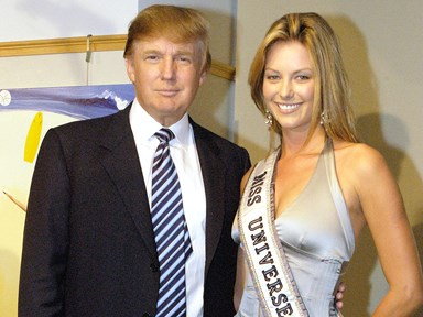UPDATE: Jennifer Hawkins responds after video shows Donald Trump humiliating her in front of a crowd