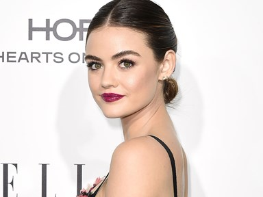 Lucy Hale has gone blonde again and it was a good choice