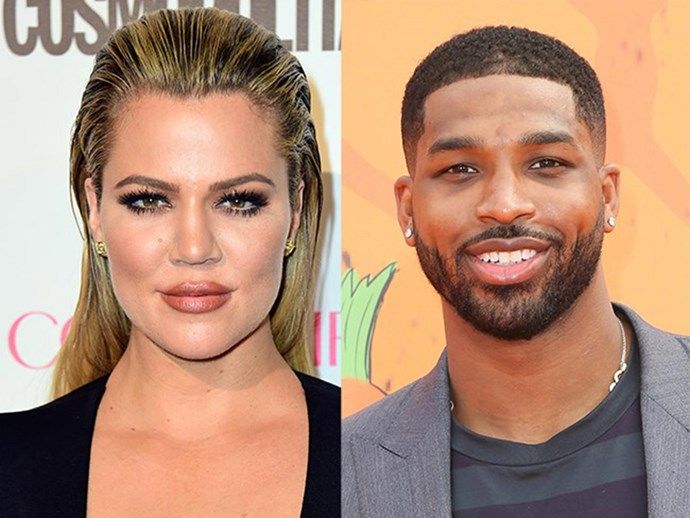 Khloé Kardashian goes 'insta official' with Tristan Thompson with a couple's Halloween shot