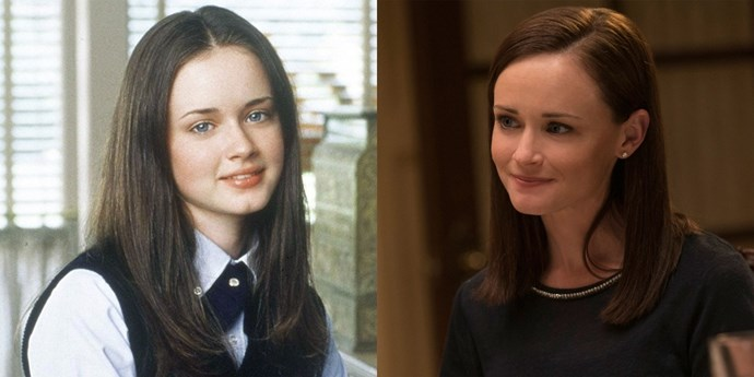**Rory (Alexis Bledel)** Alexis has travelled from Stars Hollow to *The Sisterhood of the Travelling Pants* and back. The revival finds her at a superhero convention in NYC. Random, but we'll take it.