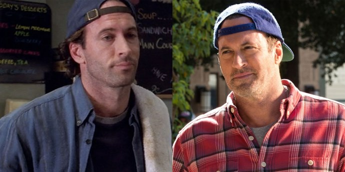 **Luke (Scott Patterson)** Scott has yet to see the front of a baseball hat and clearly continues to maintain that perfect five o'clock shadow.