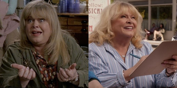 **Babette (Sally Struthers)** Sally doesn't only volunteer in Stars Hallow, she's known for her activism worldwide. And when she's not doing charitable work, she's been performing in various plays.