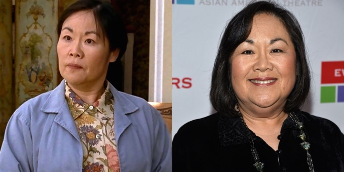 **Mrs Kim (Emily Kuroda)** Since *Gilmore Girls,* Mrs Kim has smiled once (pictured here) and continues to force her grandsons to read the Bible.