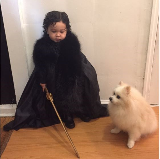 **10. Jon Snow and Ghost, Game of Thrones**  Source: FuckU_Rozz