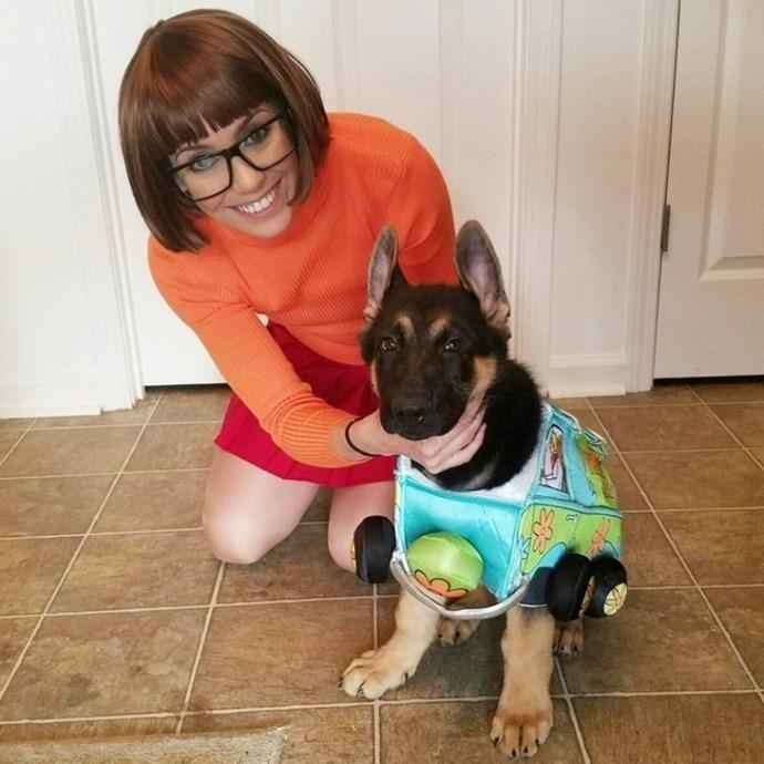**29. Velma and Scooby-Doo**