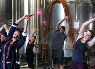 Harry Potter yoga is an actual thing and it involves wands