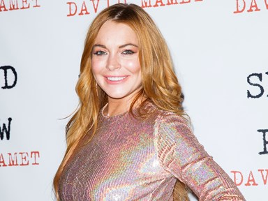 Lindsay Lohan explains why she has a totally different accent now
