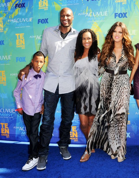 **LAMAR ODOM**  This one BLEW OUR MINDS. Before Lamar married Khloe Kardashian in 2009, he had three children - Destiny in 1998, Lamar Jr. in 2002 and Jayden in 2005 - with Liza Morales before they separated. Tragically, Jayden died in his sleep in 2006.