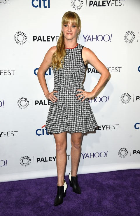 **HEATHER MORRIS**  It might be because she plays a teenager on **Glee**, but another actress you might not know has children is Heather Morris -who gave birth to a son Elijah Beckwith Hubbell in September 2013 and second son Barlett Hubbell in February 2016.