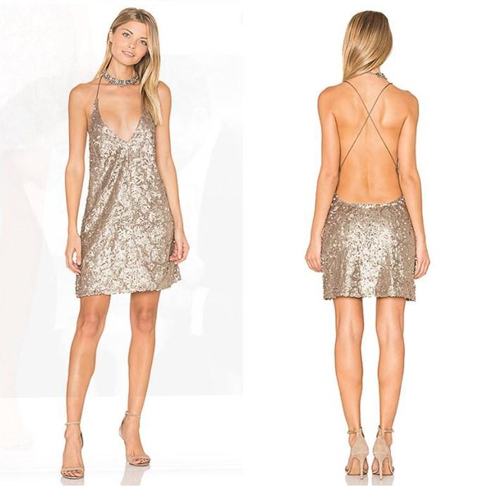"Purpura Dress, Motel, Revolve [$86.75](http://www.revolveclothing.com.au/motel-purpura-dress/dp/MOTE-WD300/?d=Womens&page=1&lc=24&itrownum=8&itcurrpage=1&itview=01 target=""_blank"")."