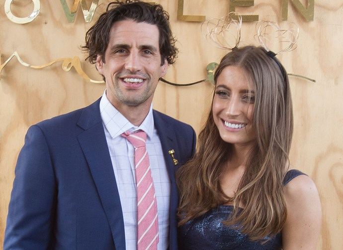 Is Andy Lee trying to get back with his ex-girlfriend Rebecca Harding?
