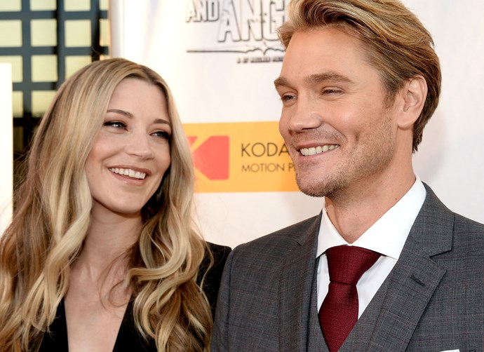Chad Michael Murray is about to become a dad again