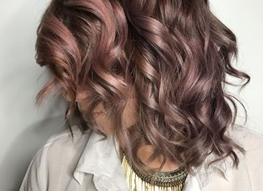 Chocolate-mauve hair is the latest and greatest hair trend to takeover Instagram