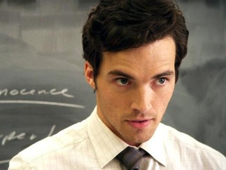 Ezra Fitz from PLL DROVE rideless students to go and vote and democracy never looked so sexy
