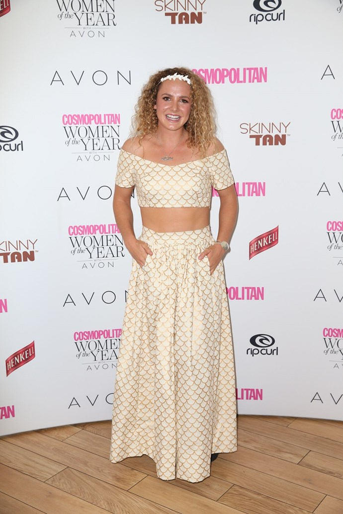 Jordan Mercer, nominated for Sportswoman of the Year.