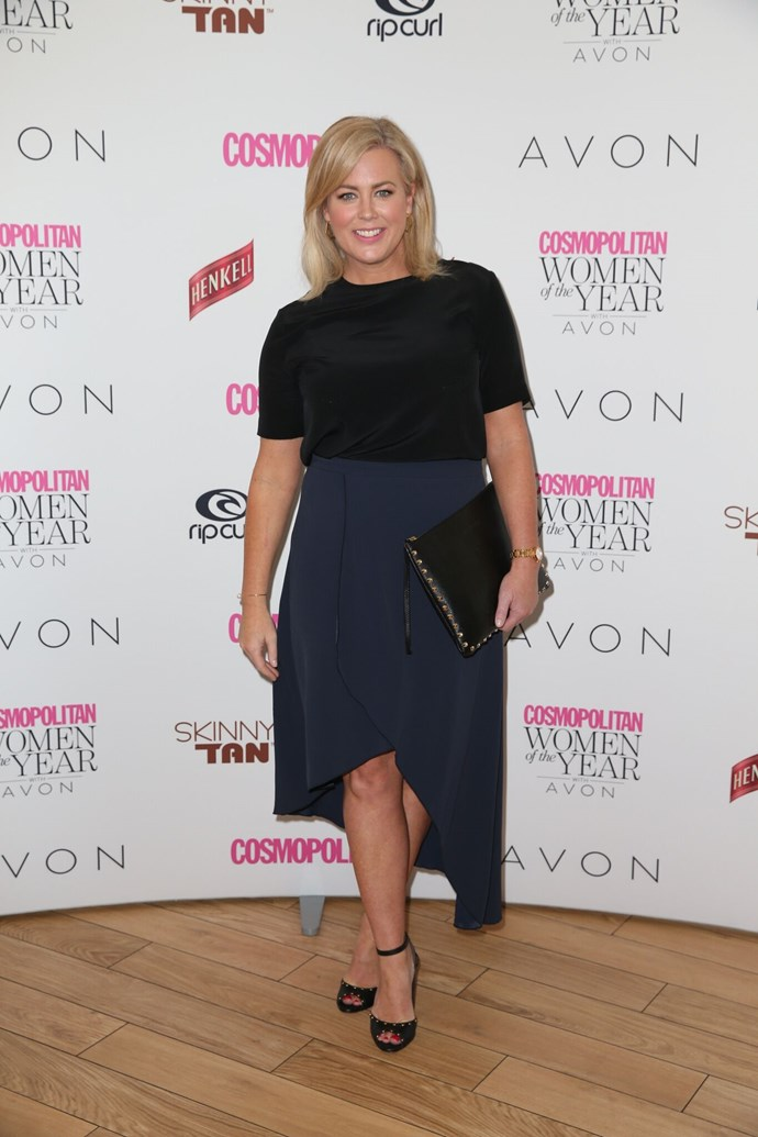 Sam Armytage from *Sunrise*, nominated for TV Presenter of the Year.