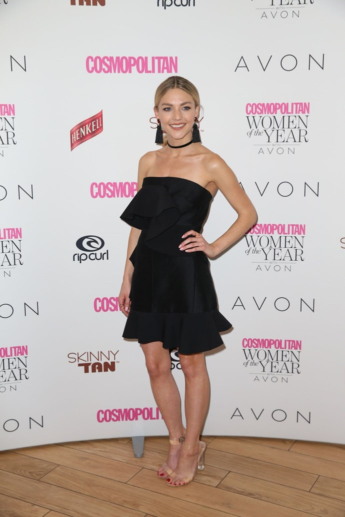 Sam Frost, nominated for Radio Presenter of the Year.