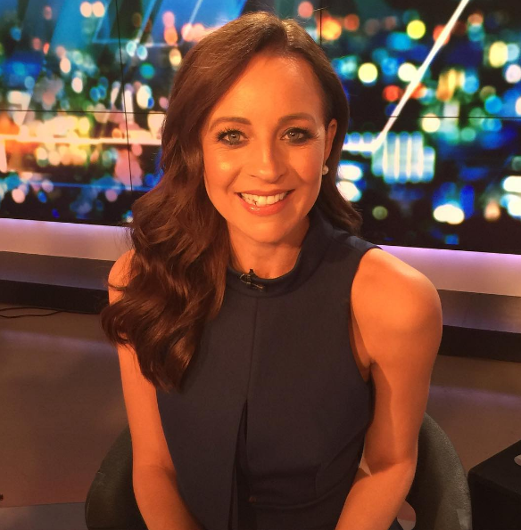 **TV Presenter of the Year, Carrie Bickmore**