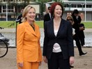 Julia Gillard gives her verdict on Hillary Clinton's loss at Cosmo's Women of the Year Awards