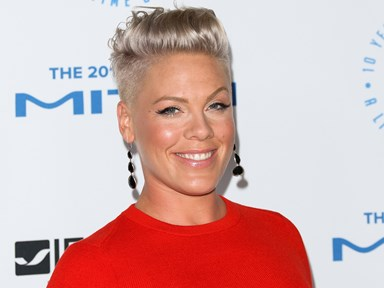 Pink just announced she's pregnant with this adorable photo