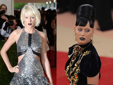 Taylor Swift got shady AF with Katy Perry at the Met Gala and no one noticed