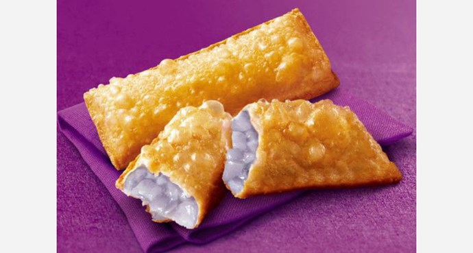 **China - *Taro Pie*:** A taro root filling version of the classic Apple Pie that apparently tastes like sweet potato.