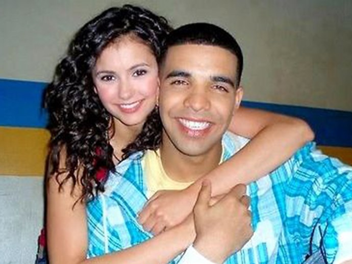 Drake and Nina Dobrev's cute AF 'Degrassi' reunion was the real winner at the AMAs