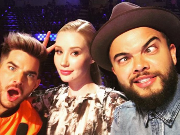 Guy Sebastian and Iggy Azalea