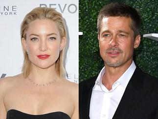 Brad Pitt and Kate Hudson