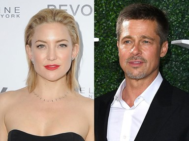 Er, are Brad Pitt and Kate Hudson now dating?