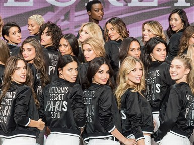 The best bums in the 2016 Victoria's Secret Fashion Show are giving us MAJOR #SquatGoals
