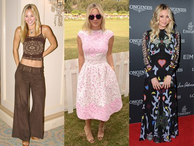 Kaley Cuoco's style transformation is literally all of us