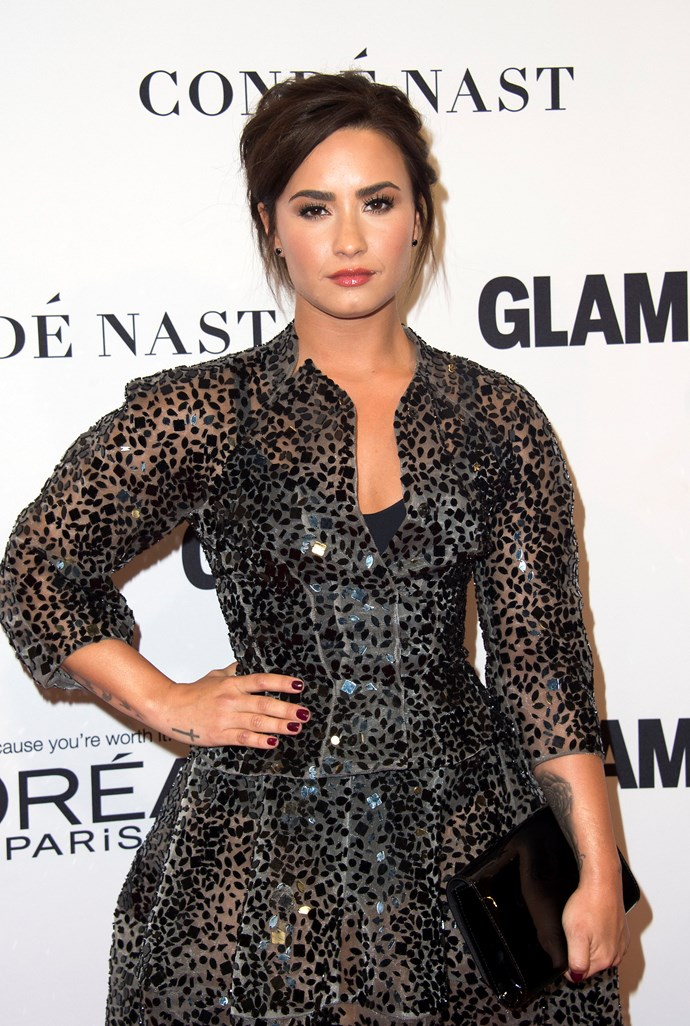 "Since 2011 when she began receiving inpatient treatment, Demi Lovato has been very vocal about being diagnosed with bipolar disorder.  During a recent interview with [*PEOPLE*](http://people.com/music/demi-lovato-bipolar-disorder-living-proof-living-well-with-mental-illness/) Demi continued to share her inspiring message to help others going through the same thing.  ""If you know someone or if you're dealing with it yourself, just know that it is possible to live well,"" Demi explained, adding, ""I'm living proof of that."""