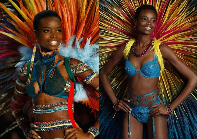 """**17. Last year's looks** Maria Borges looked [so bloody perfect in the 2015 Victoria's Secret Fashion Show](http://www.cosmopolitan.com/style-beauty/beauty/news/a49167/maria-borges-natural-hair-victorias-secret-fashion-show