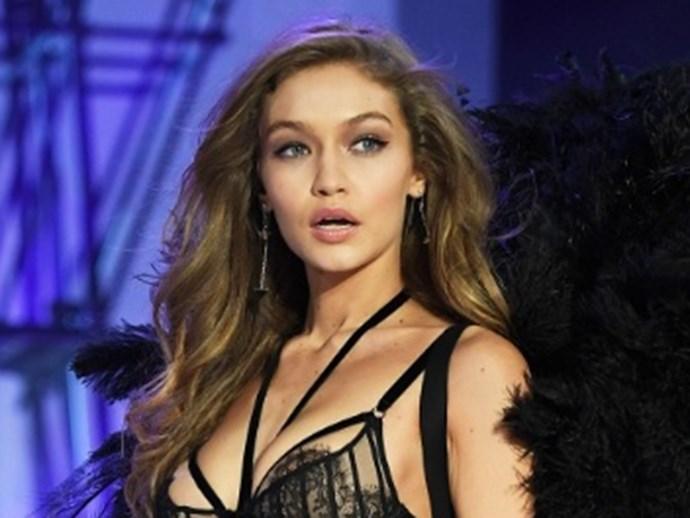 Can You Spot Gigi Hadid's Victoria's Secret Wardrobe Malfunction?