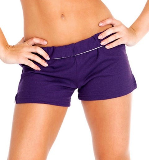 **Soffe shorts, rolled under to oblivion**  Regular Soffe shorts were not sexy. But Soffe shorts, rolled over so many times you can see your entire butt and probably part of your vagina, were *very sexy*, if only because they basically looked like tiny undies that passed as actual clothes.