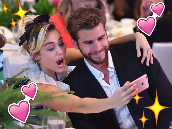 All the times Liam Hemsworth and Miley Cyrus were the CUTEST COUPLE EVER