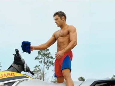 The Baywatch movie trailer is here and it's basically an ode to Zac Efron's abs