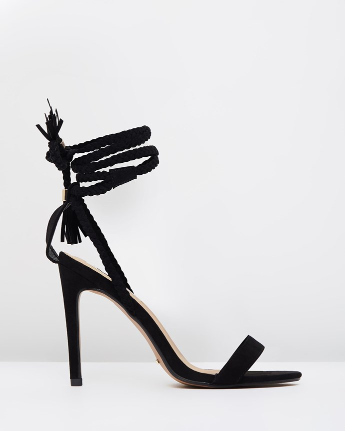 "Sable wrap sandals, $89.95 from [The Iconic](http://rstyle.me/n/b9nytevs36|target=""_blank"")."