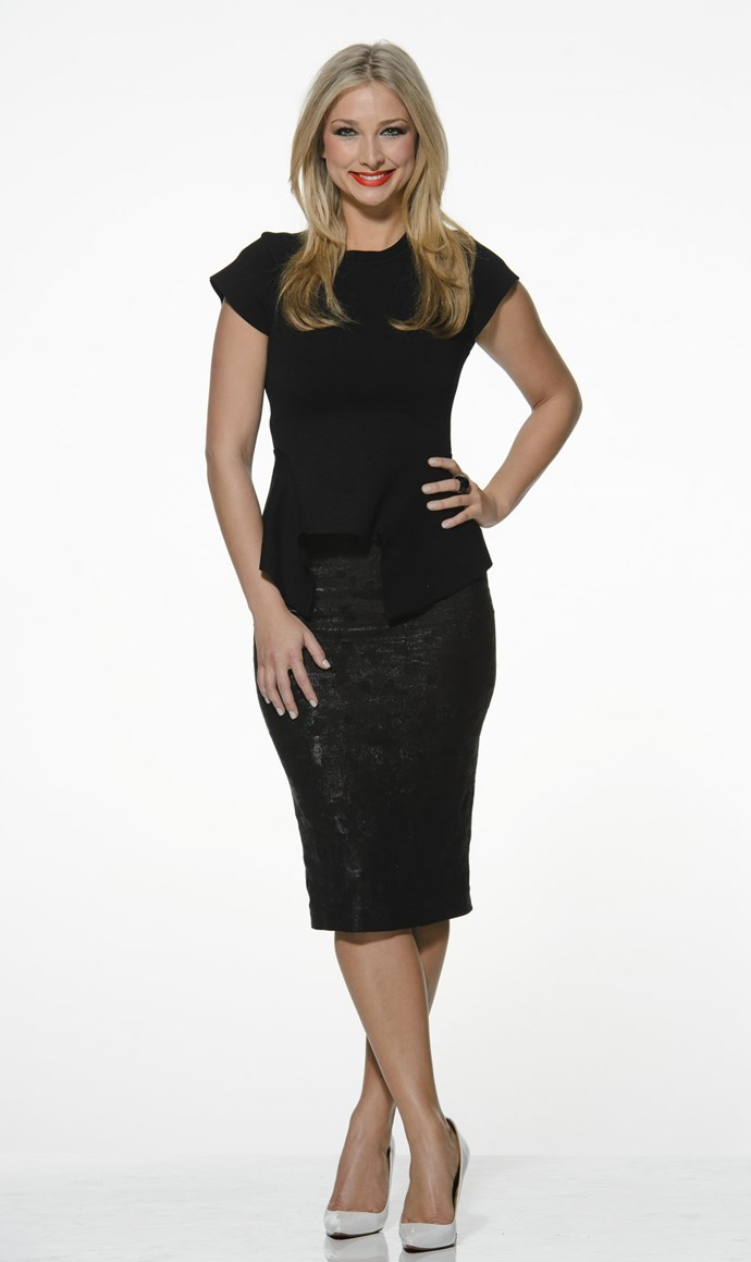 **Anna Heinrich** <br><br> THEN: She was just a lipstick-loving young lawyer from Sydney...