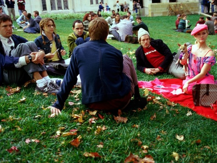 Legally Blonde Harvard campus