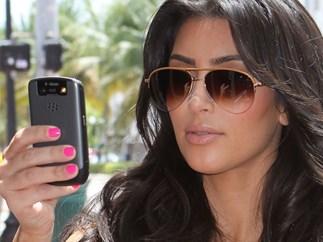 Kim Kardashian phone