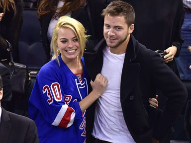 Everyone seems to think Margot Robbie just secretly got married and ZOMG!