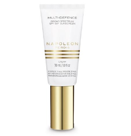 **1.  Napoleon Perdis Multi-Defence Broad Spectrum SPF 50+ Sunscreen, $29**  **Smells like:** The scent of Napoleon's first sunscreen is so light and non-offensive, we can barely smell it at all. Oh, and it was also formulated to work well with your foundation. Win, win!