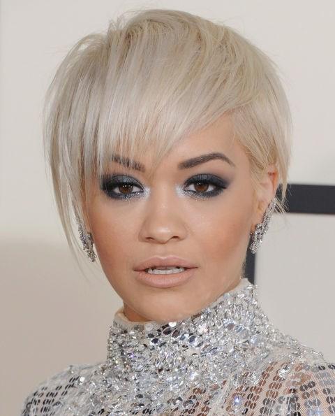 **WHITE BLONDE**   Rita Ora's ice-white strands are giving us serious Khaleesi vibes.