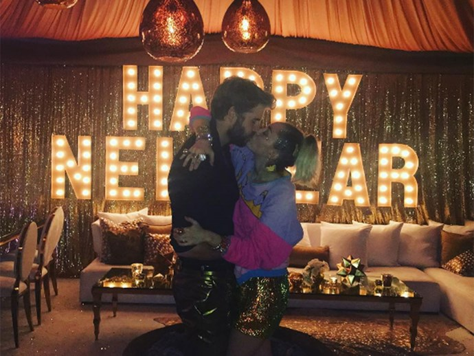 The very best pictures from the Hemsworths' New Year's Eve celebrations