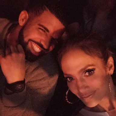 Drake and J. Lo spent New Year's Eve together because they in luuuve