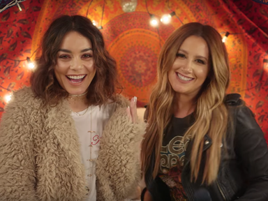 Watch Vanessa Hudgens and Ashley Tisdale perform their first ever duet