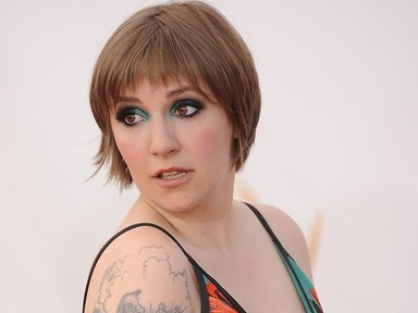 Lena Dunham and her cellulite celebrate their first photoshop-free magazine cover