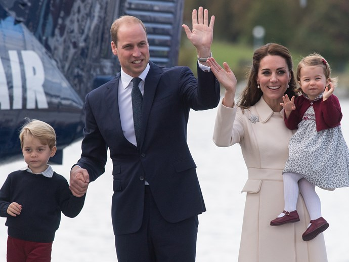 Prince William and Kate Middleton's holiday greeting card